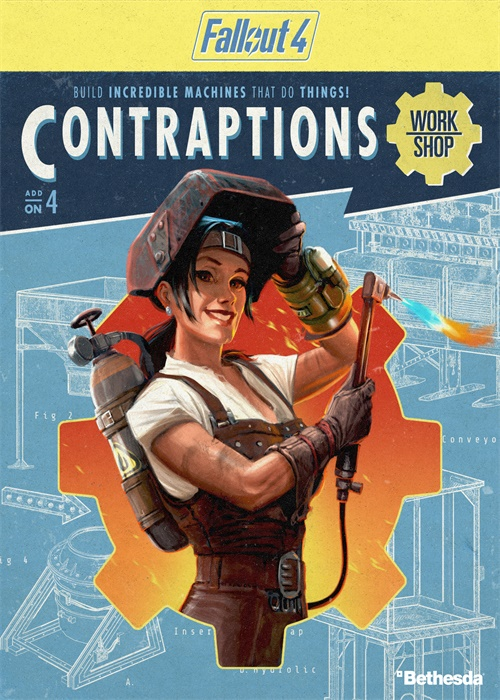 Fallout 4 Contraptions Workshop DLC Steam CD Key