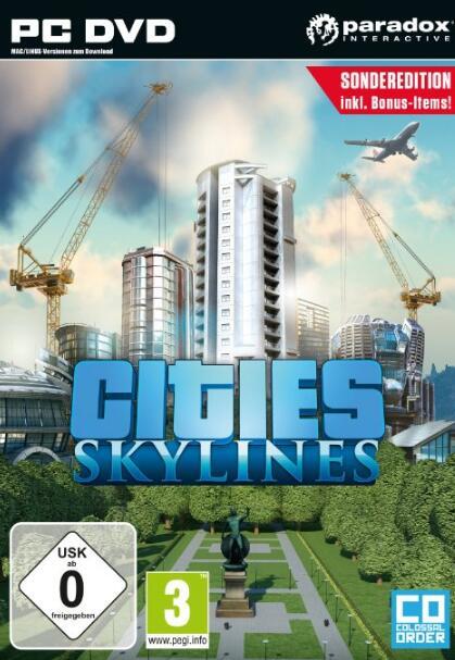 Cities Skylines STEAM CD-KEY GLOBAL