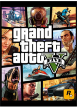 Official Grand Theft Auto V + Great White Shark Cash Card Key Global
