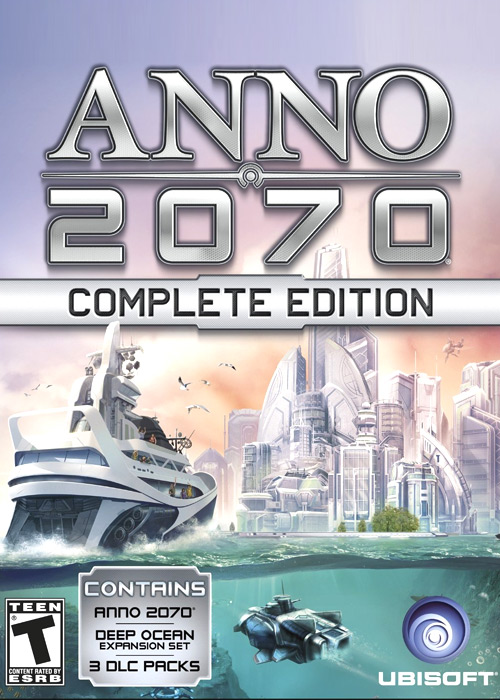 Anno 2070 Complete Edition Uplay CD Key