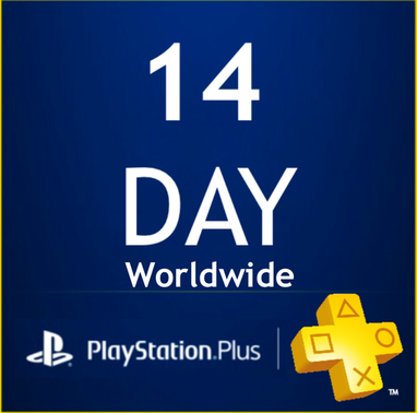 PlayStation PSN Plus Card 14 Days UK (PS4 Only)
