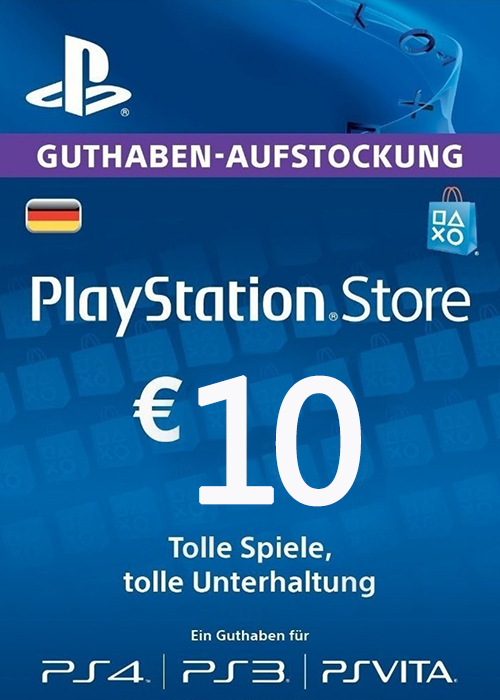 Play Station Network 10 EUR DE