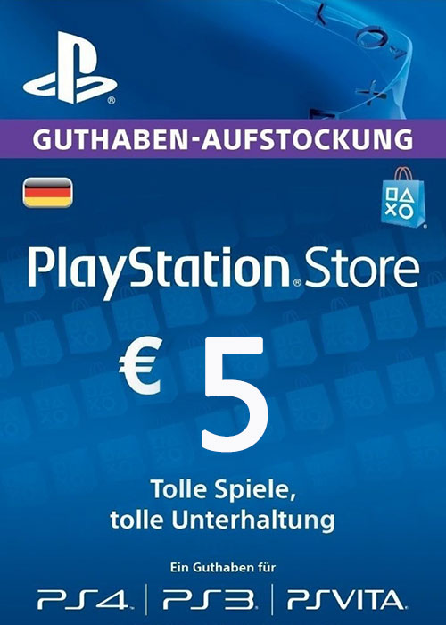 Play Station Network 5 EUR DE