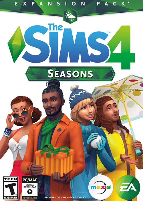 The Sims 4 Seasons DLC Key Global