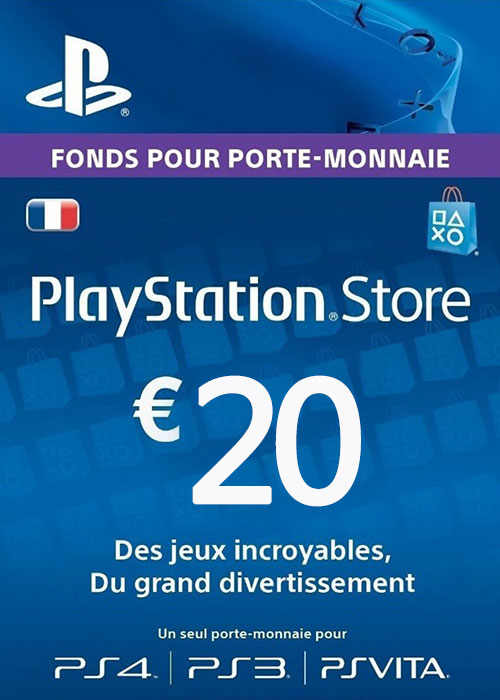 Play Station Network 20 EUR FR