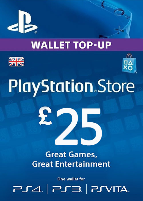 Play Station Network 25 GBP UK
