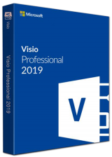 Official Visio Professional 2019 Key Global