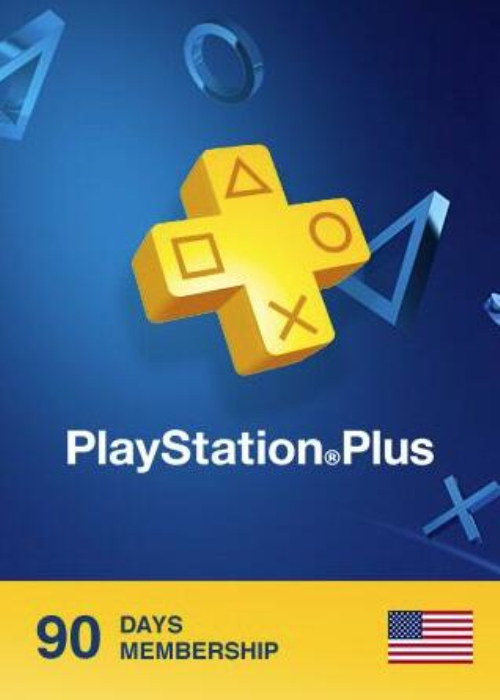 Playstation Plus 90 Days Card North America