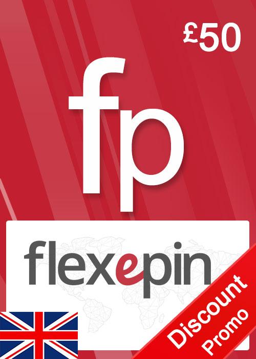 Flexepin Voucher Card 50 GBP