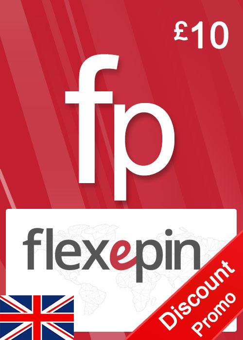 Flexepin Voucher Card 10 GBP
