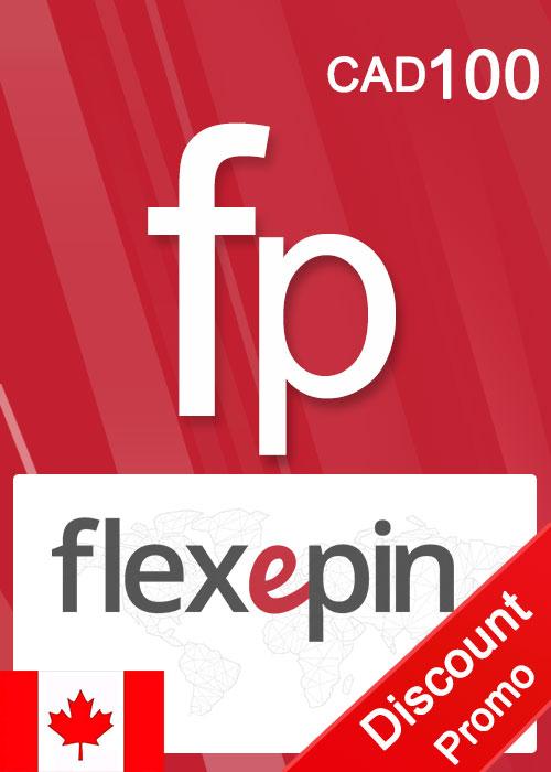Flexepin Voucher Card 100 CAD