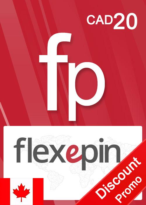 Flexepin Voucher Card 20 CAD