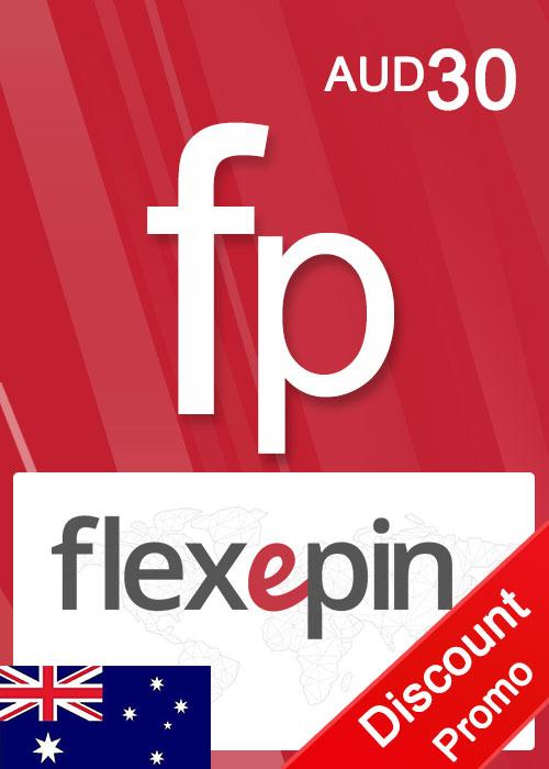 Flexepin Voucher Card 30 AUD