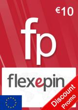 Official Flexepin Voucher Card 10 EUR