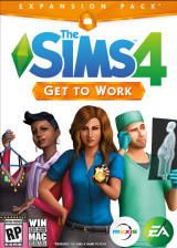 Official The Sims 4 Get To Work Origin CD Key