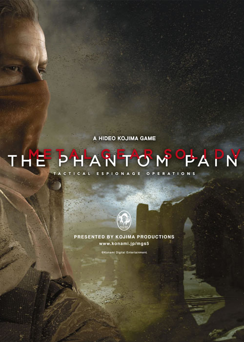 Metal Gear Solid V The Phantom Pain Steam CD Key
