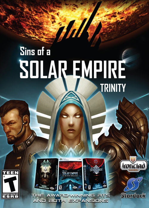 Sins of A Solar Empire Trinity Steam CD Key