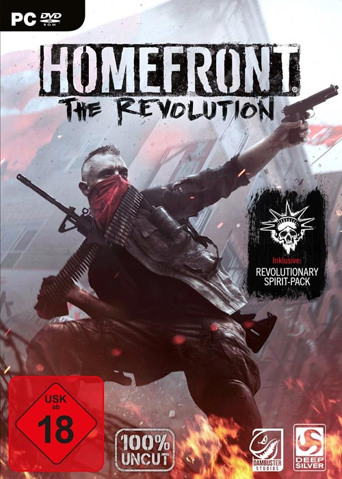 Homefront The Revolution STEAM CD-KEY
