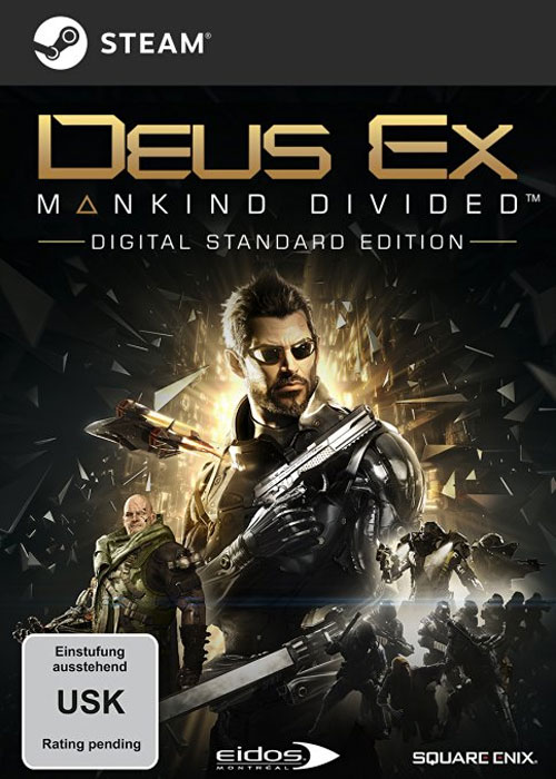 Deus Ex Mankind Divided Steam CD Key