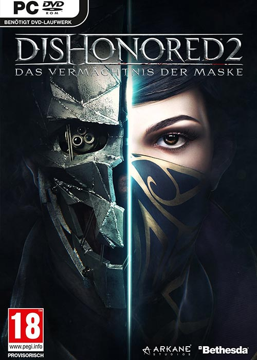 Dishonored 2 Steam CD Key