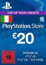 Official Play Station Network 20 EUR Italy