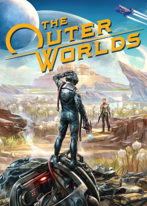The Outer Worlds Epic Key EU
